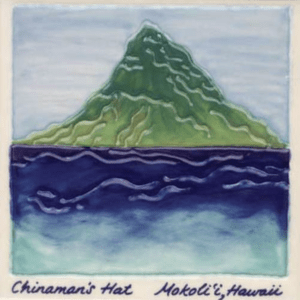 Chinaman's Hat Scenic Tile