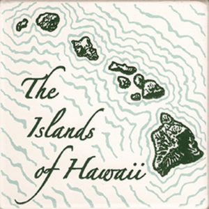 Hawaiian Island Chain Coasters