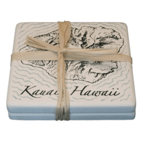 Island of Kauai Coasters set of 2