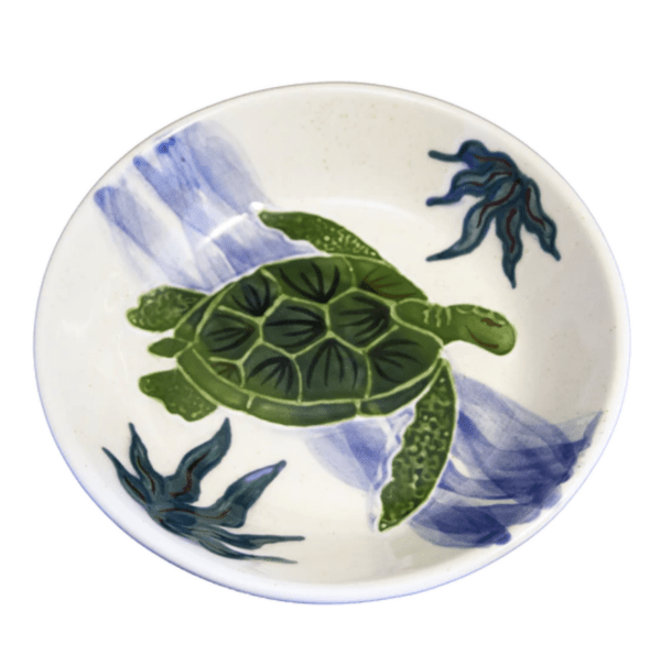 Pasta Bowl Embossed Honu (Turtle)