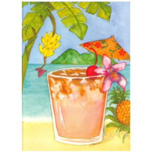 Mai Tai Note Card