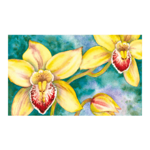 New Growth Orchid Giclée