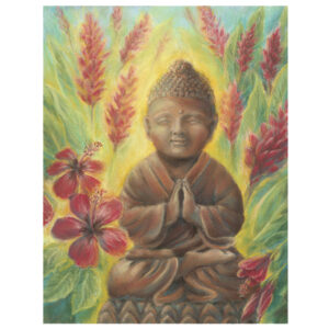 Young Buddha, Red Ginger Giclée