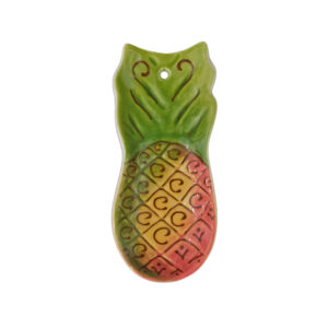 Molded Pineapple Spoon Rest 9701
